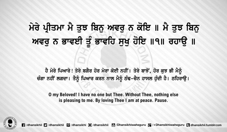 Sri Guru Granth SahibJi Arth Ang 61 Post 8