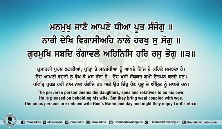 Sri Guru Granth Sahib Ji Arth Ang 63 Post 1