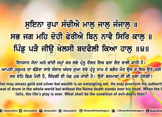 Sri Guru Granth Sahib Ji Arth Ang 63 Post 12
