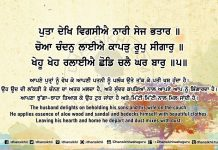 Sri Guru Granth Sahib Ji Arth Ang 63 Post 13