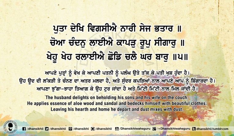 Sri Guru Granth Sahib Ji Arth Ang 63 Post 13