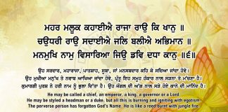 Sri Guru Granth Sahib Ji Arth Ang 63 Post 14