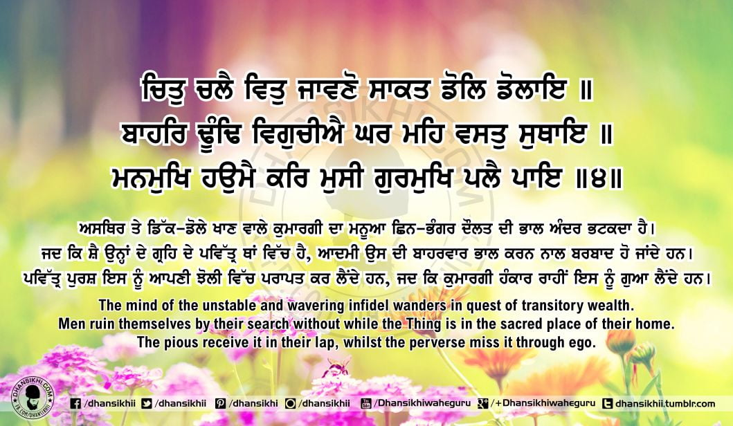 Sri Guru Granth Sahib Ji Arth Ang 63 Post 2