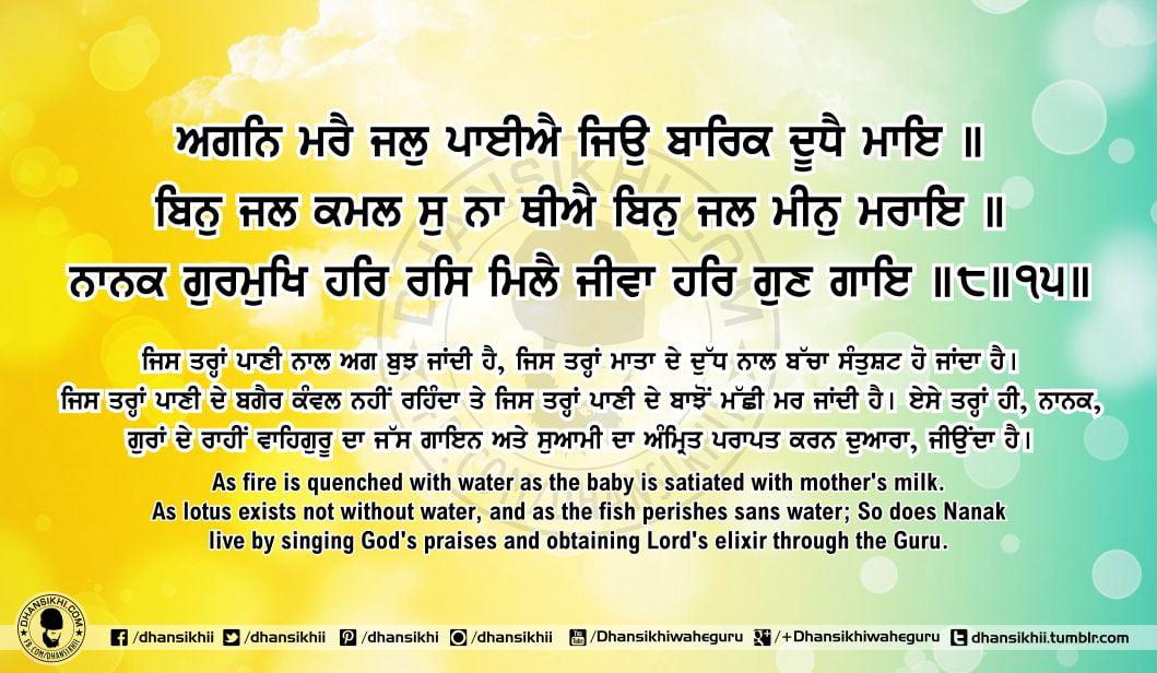 Sri Guru Granth Sahib Ji Arth Ang 63 Post 6