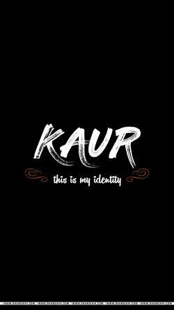 Mobile Wallpaper - Kaur Is My Identity