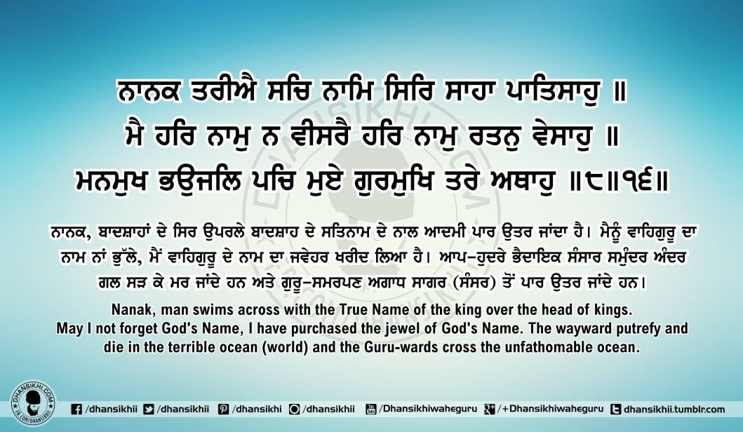 Sri Guru Granth Sahib Ji Arth Ang 64 Post 1