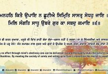 Sri Guru Granth Sahib Ji Arth Ang 65 Post 13