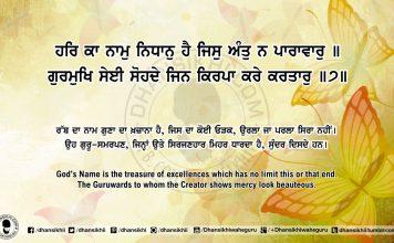 Sri Guru Granth Sahib Ji Arth Ang 65 Post 14