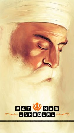 Mobile Wallpaper - Satnaam Waheguru 550 Saal Gurpurb Special