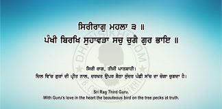 Sri Guru Granth Sahib Ji Arth Ang 66 Post 1