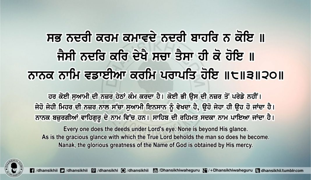 Sri Guru Granth Sahib Ji Arth Ang 66 Post 10