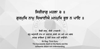 Sri Guru Granth Sahib Ji Arth Ang 66 Post 11