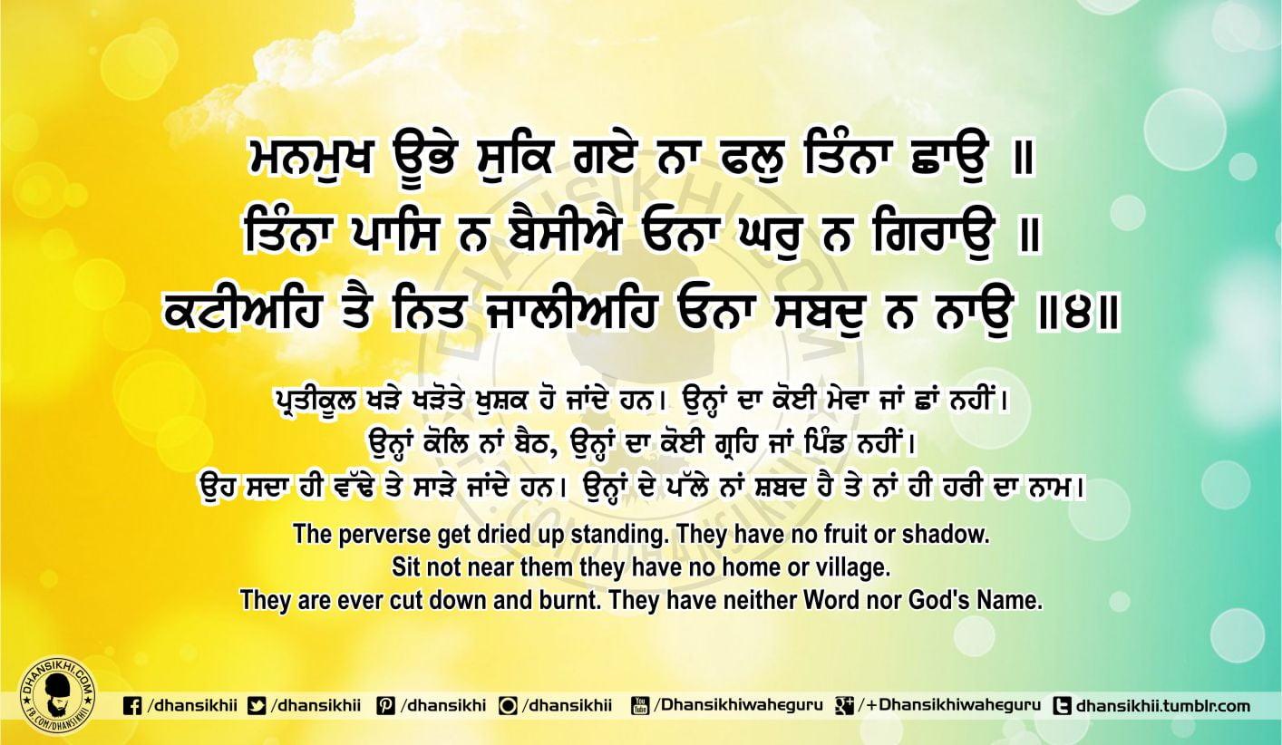 Sri Guru Granth Sahib Ji Arth Ang 66 Post 6