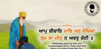 Gurbani Quotes - Aap Beechaar Maar Man