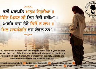 Gurbani Quotes - Bhee Paraapath Maanukh Dhaehureeaa