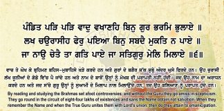 Sri Guru Granth Sahib Ji Arth Ang 67 Post 13