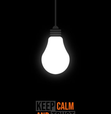 Mobile Wallpaper - Keep Calm And Trust Waheguru
