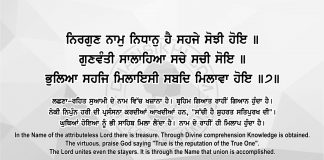 Sri Guru Granth Sahib Ji Arth Ang 68 Post 11