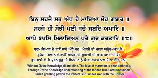Sri Guru Granth Sahib Ji Arth Ang 68 Post 12