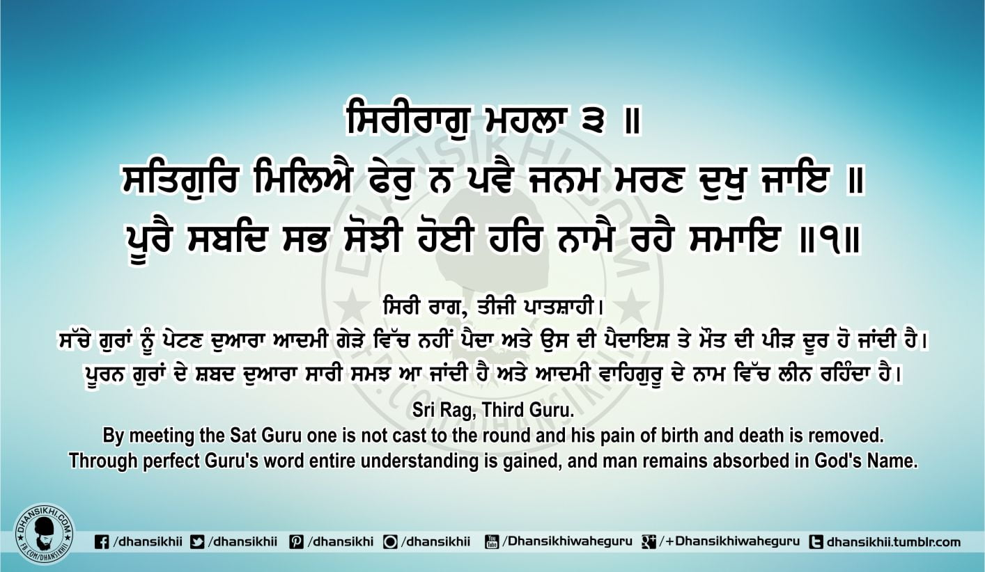 Sri Guru Granth Sahib Ji Arth Ang 69 Post 1