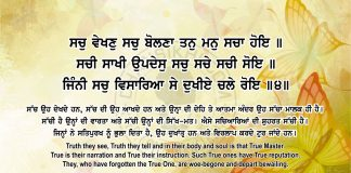 Sri Guru Granth Sahib Ji Arth Ang 69 Post 14