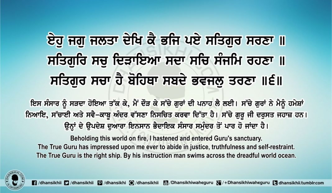 Sri Guru Granth Sahib Ji Arth Ang 70 Post 1