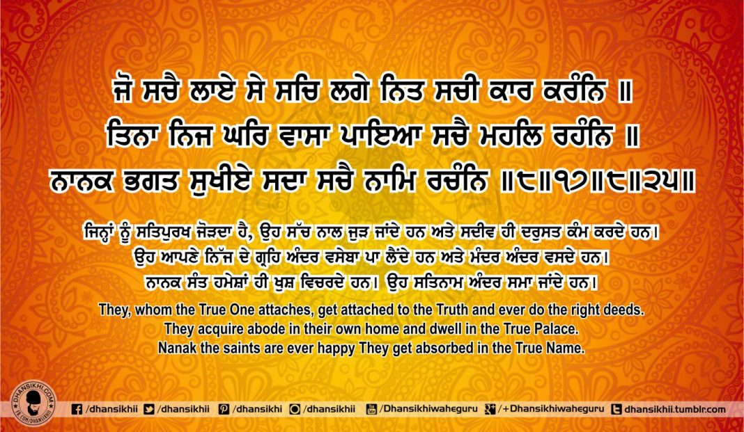 Sri Guru Granth Sahib Ji Arth Ang 70 Post 3