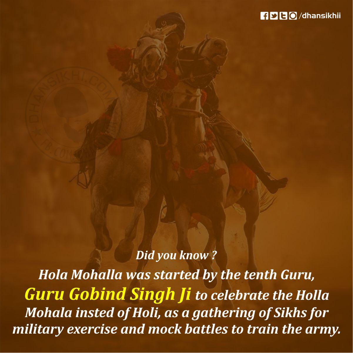 Hola Mohalla Wishes : Gurbani Greetings