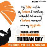 International Turban Day (Dastar Divas) Greetings, Gurbani Quotes, Sikh Photos, Gurmukhi Quotes, Gurbani Arth, Waheguru, HD Sikh Wallpaper