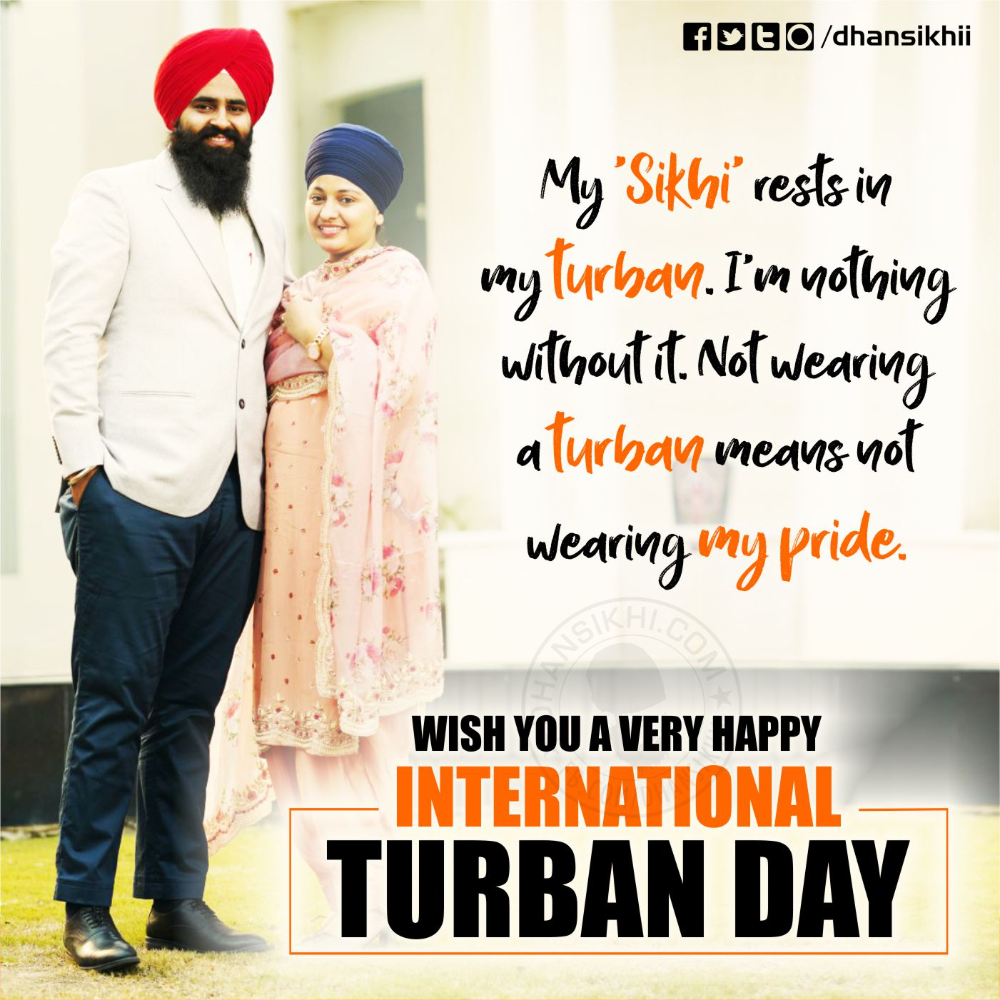 International Turban Day (Dastar Divas) Greetings