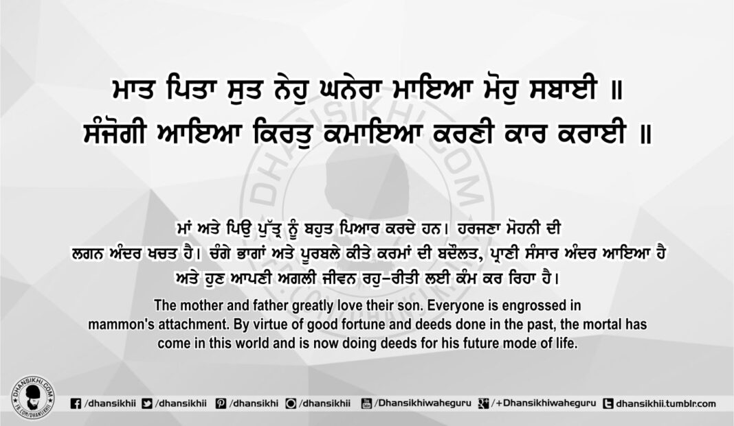 Sri Guru Granth Sahib Ji Arth Ang 75 Post 11