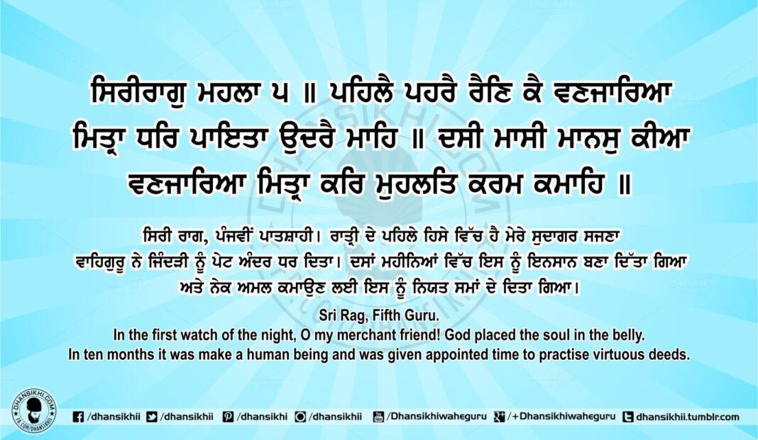 Sri Guru Granth Sahib Ji Arth Ang 77 Post 5