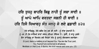 Sri Guru Granth Sahib Ji Arth Ang 83 Post 11
