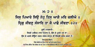 Sri Guru Granth Sahib Ji Arth Ang 83 Post 14