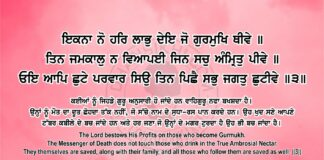 Sri Guru Granth Sahib Ji Arth Ang 83 Post 16