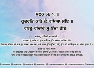 Sri Guru Granth Sahib Ji Arth Ang 83 Post 17