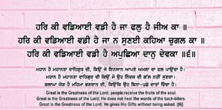 Sri Guru Granth Sahib Ji Arth Ang 84 Post 15